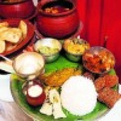 Aamish thali for 1 Person from OH ! CALCUTTA