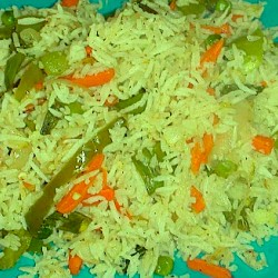 1 plate Vegetable rice