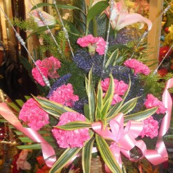 Flower Bouquet 3 with one greetings card