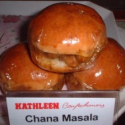 Chana Masala Bun - 4 pc (Kathleen)