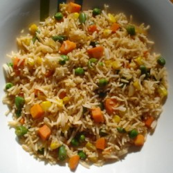 1 Plate Vegetable Fried Rice