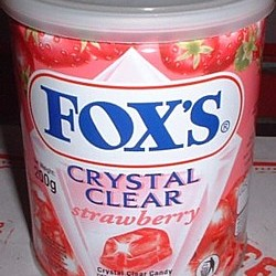 Crystal Clear Strawberry Candy - 200 gms