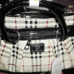 Check Ladies Hand Bag
