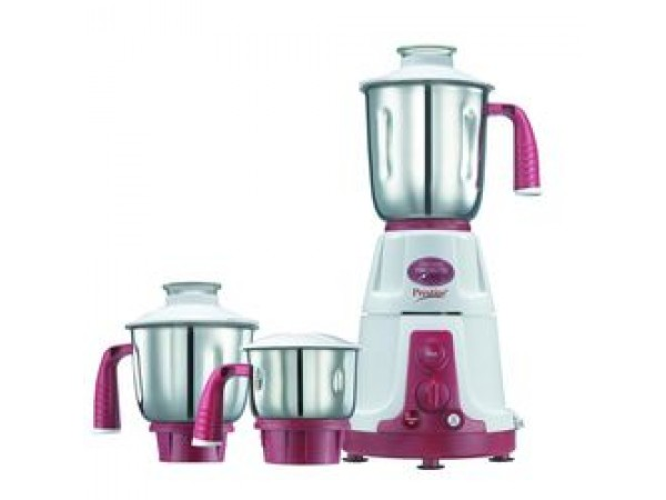 Prestige Mixer Grinder Deluxe VS, red