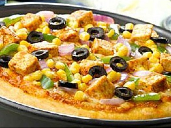 Paneer El Rancho Pizza