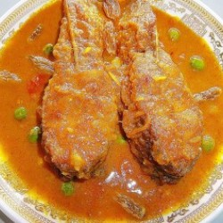 One Plate Chital Macher Peti  - 1 Ps or One Plate Chital Macher Mutia (4 Ps)  (Based on Availability)