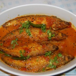 One Plate Pabda Macher sarse  or  Jhal - 1Ps