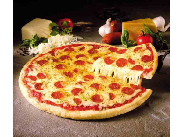 Cheese and Tomato Pizza
