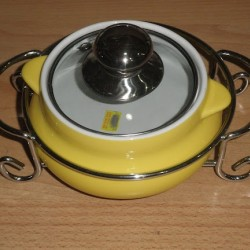 Serving bowl With Lid (Style 2)