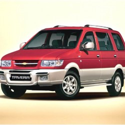 Rent Chevrolet Tavera(AC) with driver for 10 hrs