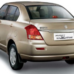 Rent Maruti Swift Dzire (AC CAR)  with driver for 10 hrs