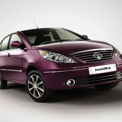 Rent Tata Manza(AC) with Driver for 10hrs